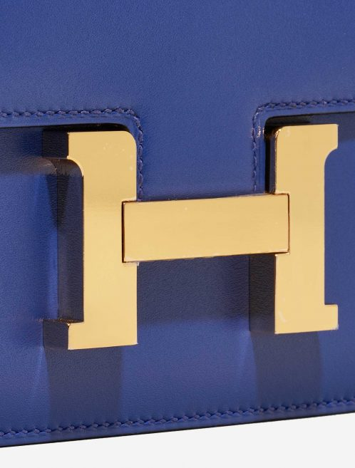 Hermès Constance 18 Tadelakt Bleu Electrique