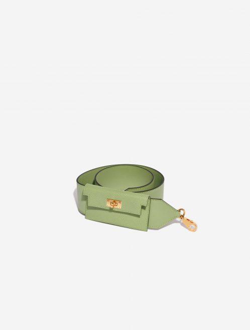 Hermès Kelly Pocket Strap Swift / Epsom Vert Criquet