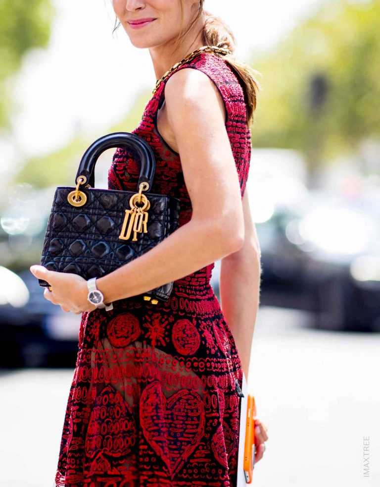 Lady Dior Streetstyle Paris | Buy & sell pre-owned luxury handbags with SACLÀB