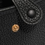 Hermès Evelyne 16 Taurillon Clemence Black Black Closing System   Sell your designer bag on Saclab.com