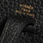 Hermès Evelyne 16 Taurillon Clemence Black Black Logo   Sell your designer bag on Saclab.com