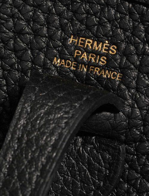 Hermès Evelyne 16 Taurillon Clemence Black Black Logo | Sell your designer bag on Saclab.com