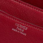 Hermès Constance 24 Swift Rubis Red Logo | Sell your designer bag on Saclab.com