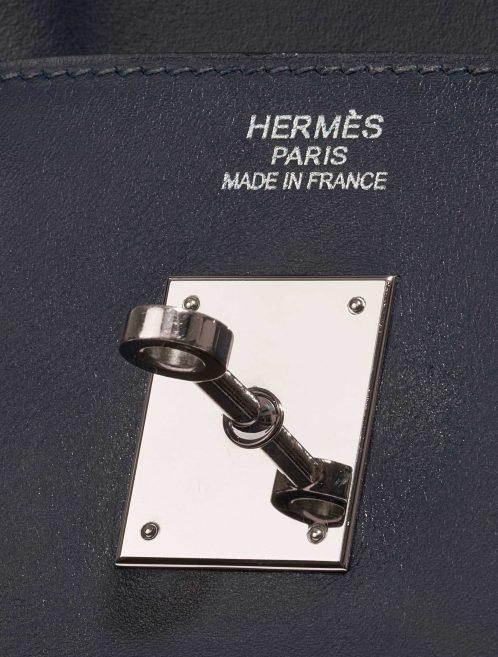 Hermès Birkin 40 Swift Blue Royale Blue Closing System | Sell your designer bag on Saclab.com