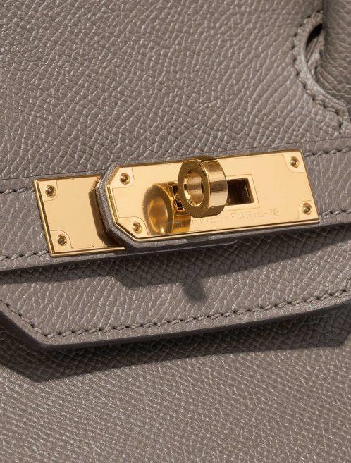 Hermès Birkin 30 Epsom Étain Brown, Gray Closing System | Sell your designer bag on Saclab.com