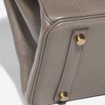 Hermès Birkin 30 Epsom Étain Brown, Gray Detail   Sell your designer bag on Saclab.com