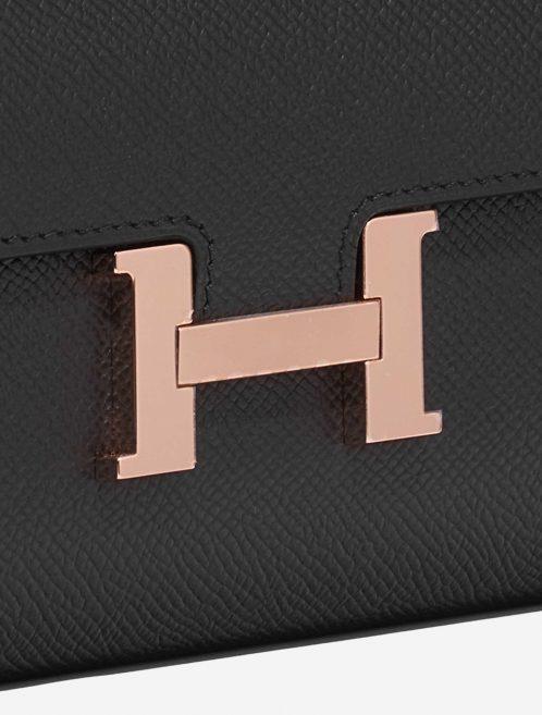 Hermès Constance To Go Epsom Black Black Closing System | Sell your designer bag on Saclab.com