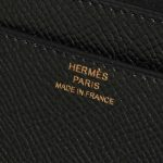 Hermès Constance To Go Epsom Black Black Logo | Sell your designer bag on Saclab.com