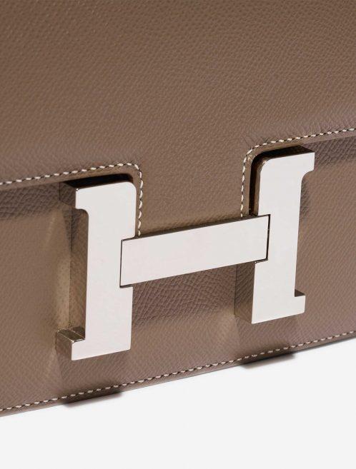 Hermès Constance 24 Epsom Etoupe Brown Closing System | Sell your designer bag on Saclab.com