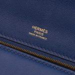 Hermès 24/24 35 Clemence / Swift Deep Blue Blue, Dark blue Logo | Sell your designer bag on Saclab.com