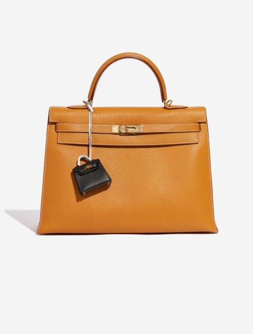 Hermès Kelly Twilly Swift Black Black Front | Sell your designer bag on Saclab.com