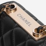 Chanel Clutch with Chain Lamb Black Black Logo   Sell your designer bag on Saclab.com