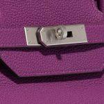 Hermès Birkin 40 HSS Togo Anemone / Bamboo Green, Violet Closing System   Sell your designer bag on Saclab.com