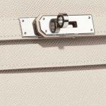 Hermès Kelly 35 Epsom Craie White Closing System | Sell your designer bag on Saclab.com