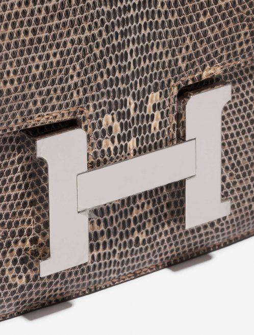 Hermès Constance 18 Salvator Lizard Desert Ombré Brown, Natural Closing System   Sell your designer bag on Saclab.com
