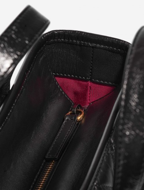Chanel Gabrielle Medium Calf Black Black Closing System | Sell your designer bag on Saclab.com
