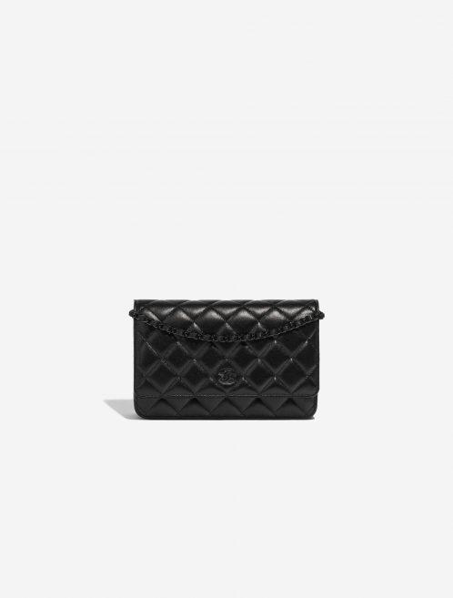 Chanel WOC Lamb So Black Black Front | Sell your designer bag on Saclab.com