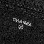 Chanel WOC Lamb So Black Black Logo   Sell your designer bag on Saclab.com