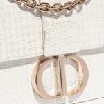 Dior 30 Montaigne Calf White White Closing System | Sell your designer bag on Saclab.com