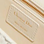 Dior 30 Montaigne Calf Ecru White Logo | Sell your designer bag on Saclab.com