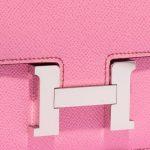 Hermès Constance 18 Epsom 5P Bubblegum Pink Closing System   Sell your designer bag on Saclab.com