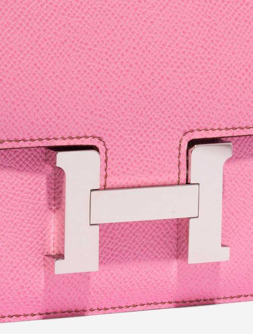 Hermès Constance 18 Epsom 5P Bubblegum Pink Closing System | Sell your designer bag on Saclab.com