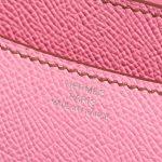 Hermès Constance 18 Epsom 5P Bubblegum Pink Logo   Sell your designer bag on Saclab.com