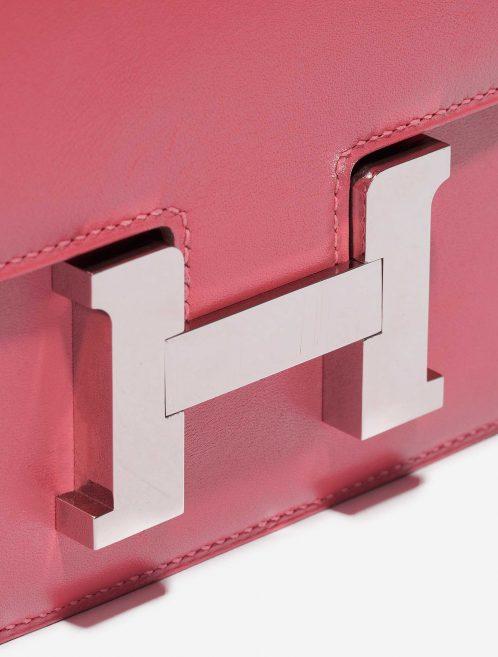 Hermès Constance 18 Tadelakt Rose Lipstick Pink Closing System | Sell your designer bag on Saclab.com