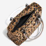Dior Lady Medium Fabric / PVC Leopard Black, Brown, Multicolour Inside   Sell your designer bag on Saclab.com