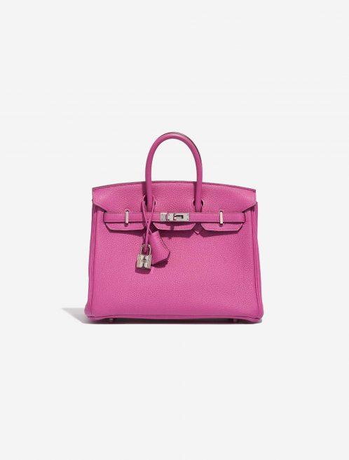 Hermès Birkin 25 Togo Magnolia Pink, Violet Front | Sell your designer bag on Saclab.com